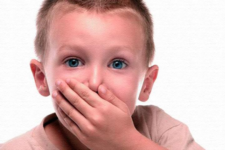 Ребенок стесняется заикания.