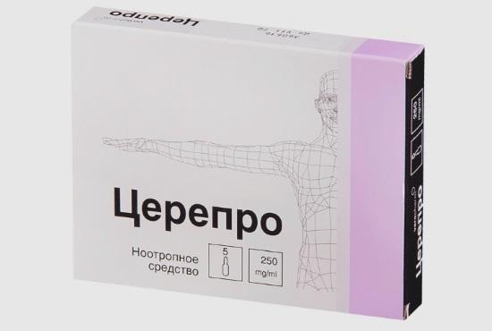 Ноотропный препарат Церепро