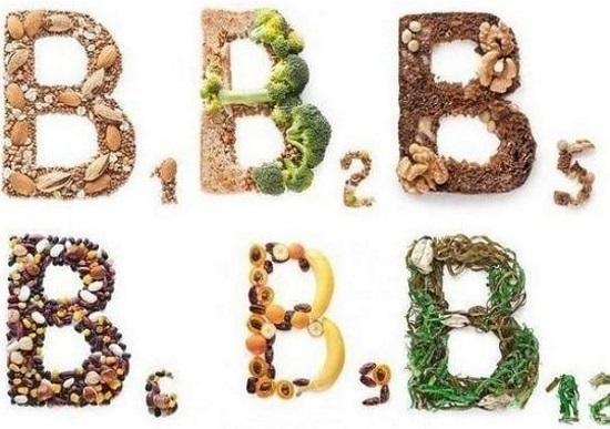 Продукты, богатые витамины группы В