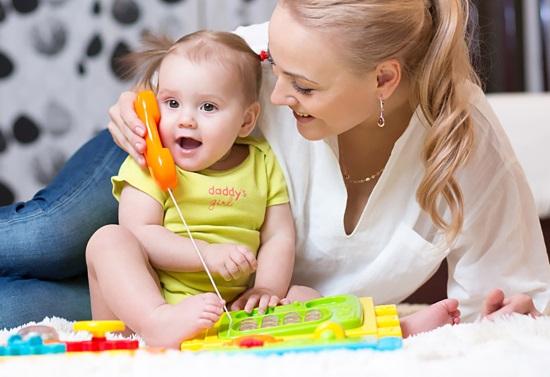 Правильно организованные игры способствуют развитию речи ребенка