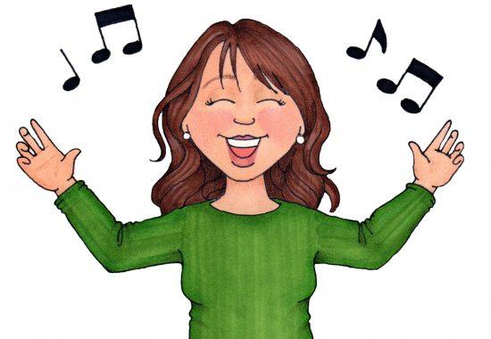 Пропевание нот для разогрева голосовых связок
