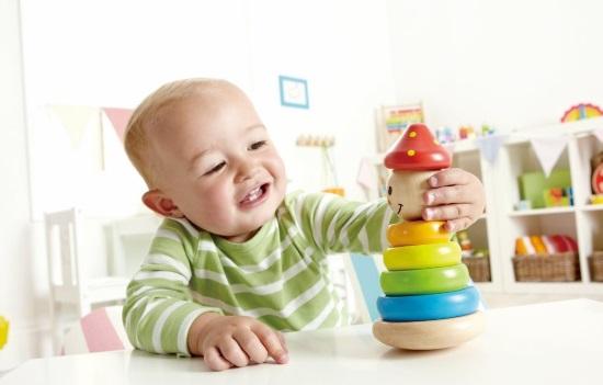 Пирамидка — отличная развивающая игрушка