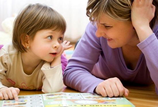 Родители должны помочь малышу в развитии его речи