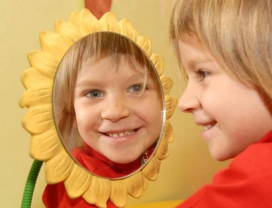Отработка произношения звука пред зеркалом