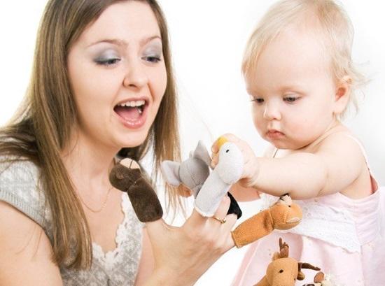 Игры с пальчиковыми куклами