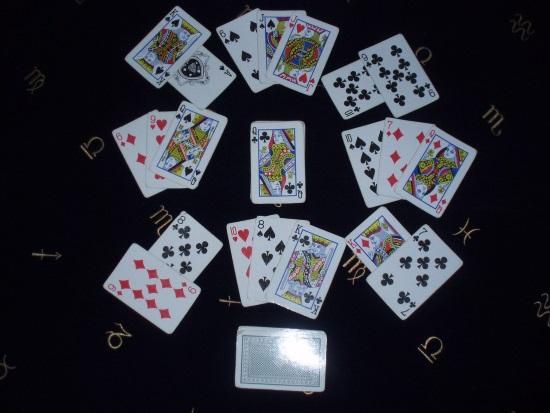 Гадание на игральных картах, расклад-скороговорка