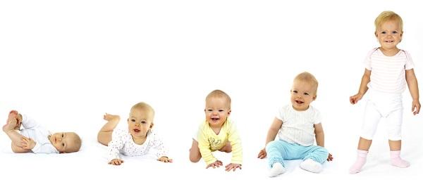 Развитие ребенка от рождения до года